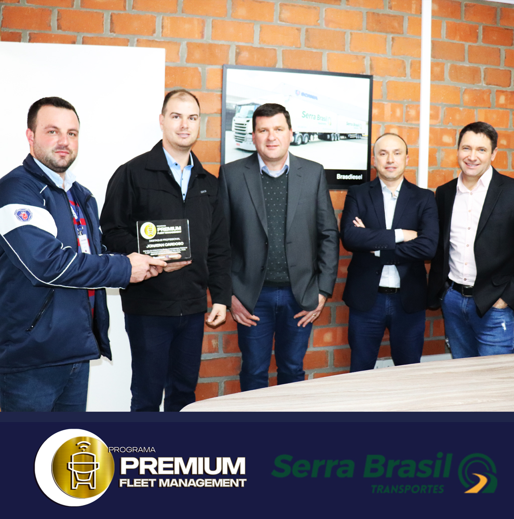 Serra Brasil Transportes Ltda adquire o Programa Premium Fleet Management - Brasdiesel/Scania