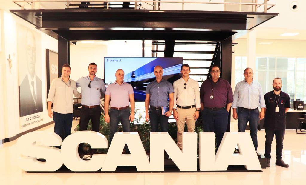 Brasdiesel recebe visita das Empresas Orange Cabines, Grupo ArpiAspersul e Flexbimec