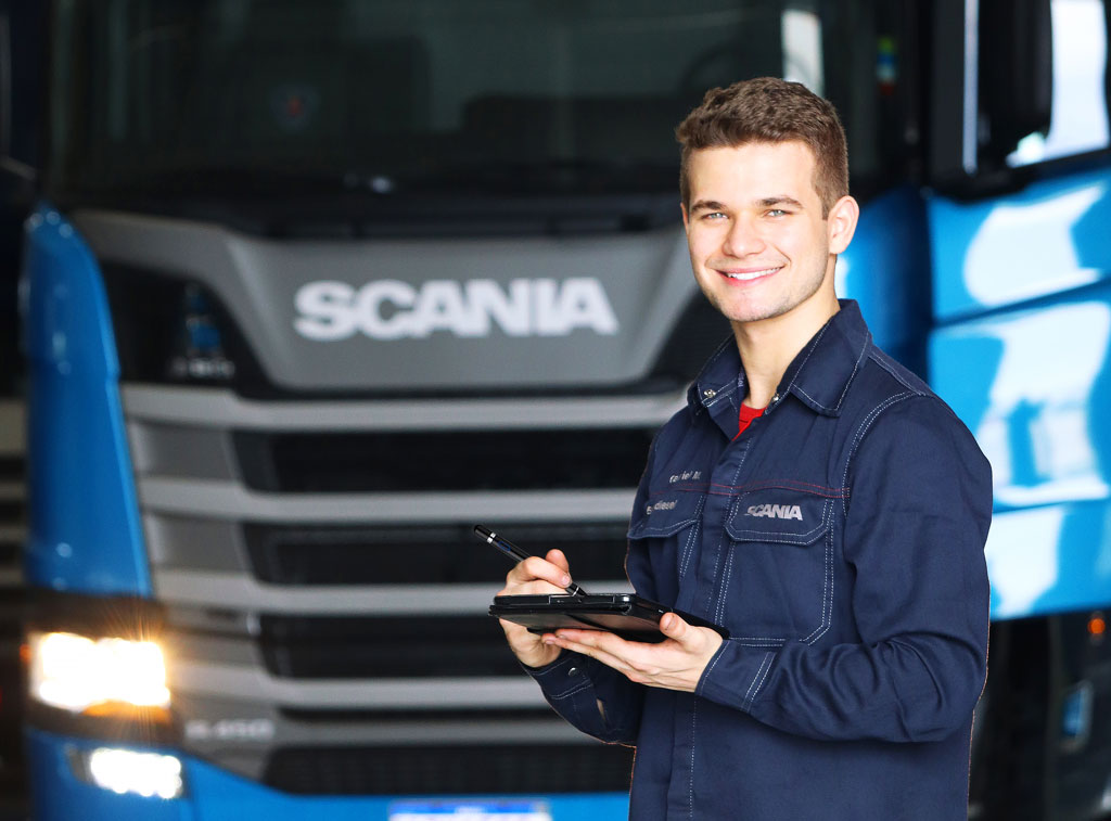 CHECKLIST - Inspeção completae gratuita do seu Scania.