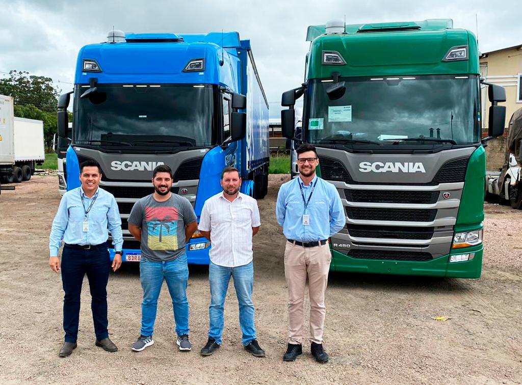 SUCESSO GARANTIDO! Comércio e Transportes de Combustíveis G. W. comprova o rendimento  da Nova Geração Scania.