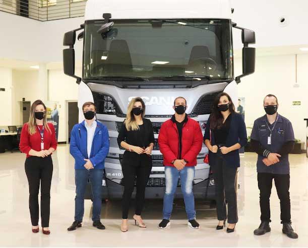 Brasdiesel Caxias do Sul recebe a visita da equipe da AUTOBEM BRASIL.